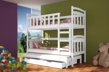 Poschodová posteľ Damian - farebná
