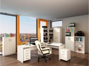 Kancelársky nábytok Johan - biela