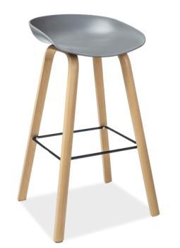 Barová stolička Sting sivá