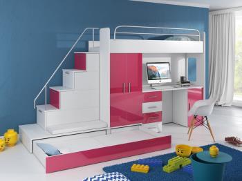 57eccb81b9f63 Poschodová posteľ Raj 5 - Vera nábytok