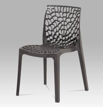 Stolička CT-820 grey / red