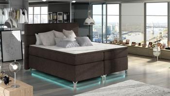 Manželská posteľ Amadeo 160 + LED osvetlenie