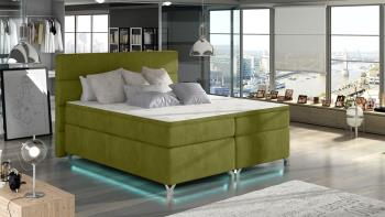 Manželská posteľ Amadeo 180 + LED osvetlenie