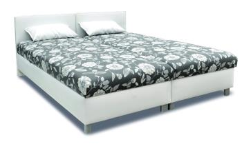 Manželská posteľ Duo (lamelový rošt)