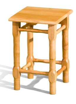Taburetka drevená
