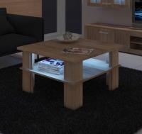 Konferenčný stolík Futura 1 + LED - mat
