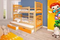 Poschodová posteľ Oli 3 - typ B