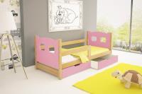 Jednolôžková posteľ Oli - typ A