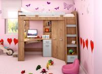 Poschodová posteľ Antresola P