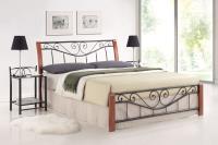 Manželská posteľ Parma 160 - antická čerešňa
