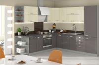 GREY + skrinky z kuchyne KARMEN