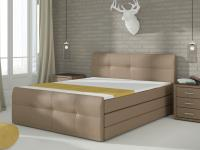 Manželská posteľ Palermo 180 (matrac Megacomfort Visco)