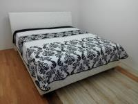 Manželská posteľ Impreza Comfort + prehoz a 2x vankúšik