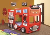 Poschodová posteľ Fire Truck double