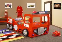 Detská posteľ Fire Truck single