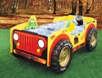 Detská posteľ Monster Truck