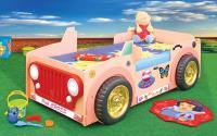Detská posteľ Jepp pink