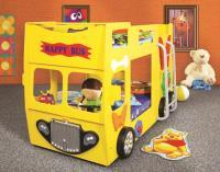 Poschodová posteľ Happy Bus