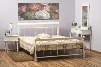 Manželská posteľ Venecja 180 - biela