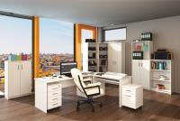 Kancelársky nábytok Johan - biela 1