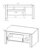 ARKO konferenčný stolík 12 2