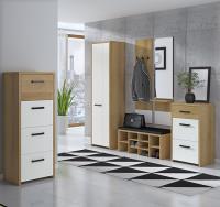 b2402ad766f4 Moderný predsieňový sektorový nábytok v 3 farebných prevedeniach.