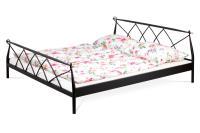 Manželská posteľ BED-1907 bk