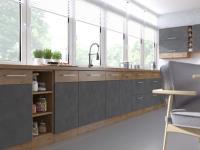 Kuchynská linka Vigo - sivý mat 4