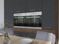 Kuchynská linka Vigo - sivý mat 7