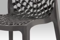 Stolička CT-820 grey / red 10
