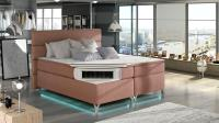 Manželská posteľ Amadeo 160 + LED osvetlenie 21