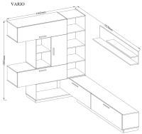 Obývacia stena Vario 3