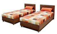 Manželská posteľ Duo (lamelový rošt) 2