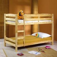 Poschodová posteľ Felicita prírodná 1