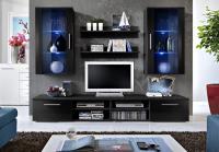 Obývacia stena Galino G - lesk + LED