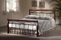 Manželská posteľ Venecja 160 - antická čeresňa